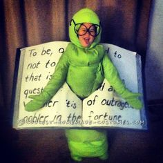 Bookworm Halloween Costume