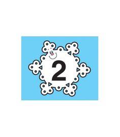 Snowflake Calendar Cover-Up - Carson Dellosa Publishing Education Supplies