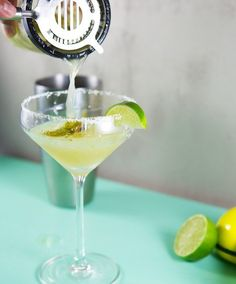 Summer Drink Recipe: Spicy Roasted Shishito Pepper Margarita — Recipes from The Kitchn | The Kitchn