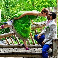 Erin & Jay's queer Jewish Dominican wedding | Offbeat Bride