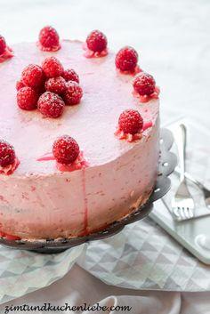 Schoko-Himbeer-Buttercreme Torte