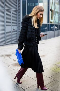 All the Street Style From London Fashion Week Fall 2016 - Olivia Palermo - FLARE