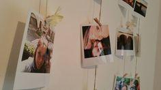porta foto da parete