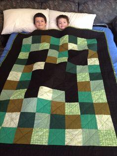 Minecraft quilt by ButterZ