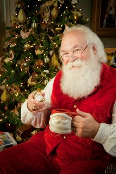 Our good friend, Santa Cliff Snider...the best Real Santa EVER!