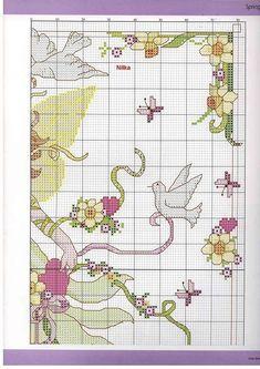 Spring Fairy - 3/5 Solo Patrones Punto Cruz   Aprender manualidades es facilisimo.com