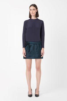 COS | Velvet skirt
