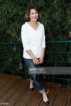 Actress Isabelle Gelinas attends Roland Garros Tennis French Open 2013 - Day 2 on May 27, 2013 in Paris, France.