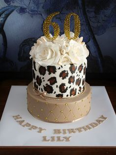 I want this as my birthday cake! Last cake before Cheetah Birthday Cakes, 60th Birthday Cakes, Birthday Cakes For Women, Cheetah Print Cakes, Leopard Cake, Leopard Print Party, Beautiful Cakes, Amazing Cakes, Torta Animal Print