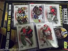 Lot of 5 Rookie Cards from 2005 Topps Draft Picks And Prospects (Lot-1) RC