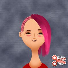 I saw a girl at my school with hair like this