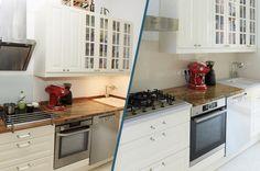 Küchenrenovierung Led Spots, Modern, Kitchen Cabinets, Home Decor, Old Kitchen, Set Of Drawers, Simple, Trendy Tree, Decoration Home