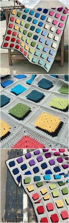 Crochet Double A Design Blanket – Craft Ideas