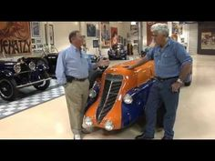 Jay Leno's eco-car collection Los Angeles, California (CNN) -- Top U.S. talk-show host Jay Leno loves cars but also considers himself an environmentalist. Description from article.wn.com. I searched for this on bing.com/images