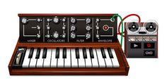 O Doodle em homenagem ao pai do sintetizador demorou quatro meses para ser desenvolvido (Foto: Reprodução/Google)
