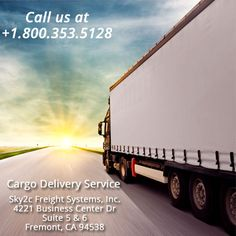 Commercial Cargo by Domestic FTL - Cargo Services, Transportation Services, Business Centre, Panama, Mexico, Commercial, Sky, Cold, Heaven