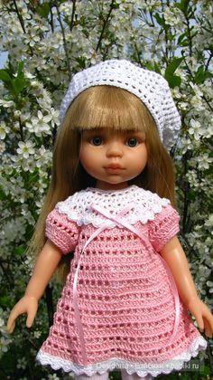 Берет на куклу своими руками