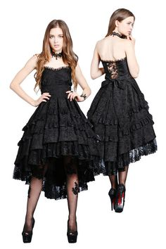 DW039 gothic noble dovetail dress no petticoat included