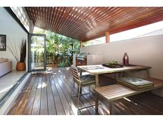 Outdoor living design with bbq area from a real Australian home - Outdoor Living photo 276080