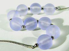 WMF Myra Art Deco Silber Glas Kette ° Kugelkette ° Collier ° Ikora Tradition