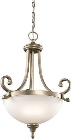 0-021053>Monroe 2-Light Sterling Gold Pendant