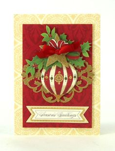anna griffin christmas cards | Anna Griffin, Inc. Holiday Trimmings Card Making Kit