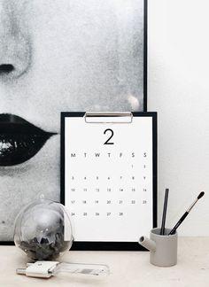 RK+DESIGN+simple+minimalistic+calendar2+2014.jpg 700×963 pixels