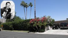 "LAWRENCE WELK - 730 East Paseo El Mirador, Palm Springs. Movie Colony Neighborhood. Big band leader and variety television show producer owned this 2,749sf, 3 bedroom, 3 bath, 1952 home till 1978. It has a pool and a 16,117sf lot. Welk was the creator of ballroom Champagne Music and was known for his corny German accent phrases like ""Wunnerful, Wunnerful,"" ""Ah-one and a-two"" and ""Pee (be) on your toes."""