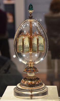 The 19 Most Beautiful Fabergé Eggs for a Dream Easter Basket Princess Aesthetic, Faberge Eggs, Egg Art, Oeuvre D'art, Decoration, Snow Globes, Vintage Antiques, Glass Art, Sculptures
