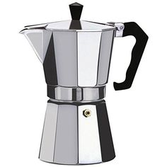 Kabalo 150ml (2-cup) Espresso Stove Top Coffee Maker - Continental Moka Percolator Pot Aluminium *** Find out more about the great product at the image link.