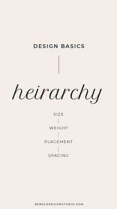 Hierarchy Design Basics: Type Hierarchy · Design B The Effective Pictures We Offer You About Web Design inspiration A quality picture can te Design Websites, Online Web Design, Website Design Services, Web Design Tips, Graphic Design Tips, Web Design Trends, Web Design Tutorials, Web Design Company, Web Design Inspiration