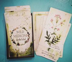 Wild Medicine Herbal Deck by Tamed Wild – Unearthed Crystals Moon Deck, Oracle Tarot, Oracle Deck, Tarot Card Decks, Tarot Spreads, Tarot Readers, Deck Of Cards, Herbal Medicine, Runes