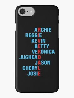 Riverdale Phone Case for Iphone 7 XR 6s Plus 6 X 8 9 11 Cases Pro XS Max Bughead Pops Choni Jughead Holder Plus Grip Coque Hair Football 32972362212 Birthday Patch Decorations Cheryl Wallet Southside