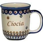 When SiS has her Widdles :)  New Polish Pottery 12oz Mug - CIOCIA, AUNT