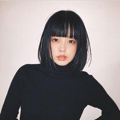 (@aoyagifumiko ) 前髪を作り、ボブに。 可愛いハク様hair ...似合う。 #青柳文子
