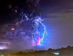 A LO NATURAL Y SENCILLO: ¡Actualmente hay 40 Volcanes Activos en todo el mundo!