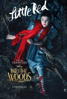 Meet the Fairy Tale Cast of Characters Going Into the Woods ( These Gifs are amazing!)
