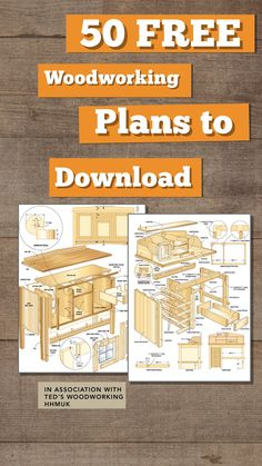 Download 50 woodworking plans for Free! Yes! Free furniture plans and instructions, available to download with bonus ebooks, guides and help along the way! #freedownload #furniture #furnitureplans Summer House Garden, Home And Garden, Painted Furniture, Diy Furniture, Wood Burning Crafts, Diy Resin Crafts, Guide Book, Teds Woodworking, Instant Access