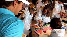 Arts and Crafts Day with Batson Patients at Sanderson Farms Championship | http://newsocracy.tv