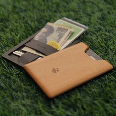 Union Wood Wallet // Warm Cherry