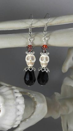 Check out this item in my Etsy shop https://www.etsy.com/listing/541042216/skull-earrings-the-prince