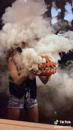 Whether you want to create a haunted house or just a cool photo, smoke your pumpkins up with this tutorial! Whether you want to create a haunted house or just a cool photo, smoke your pumpkins up with this tutorial!