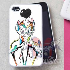 Love Bambi Disney Design for iPhone 4 iPhone 4s by AsgardianShop, $14.99