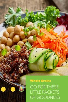 While you may think of only breads and cereal products as a way to eat your grains, there are so many more ways to enjoy them and reap their advantages to health. Barley Recipes, Oats Recipes, No Dairy Recipes, Mushroom Recipes, Fruit Recipes, Pork Recipes, Bison Recipes, Chickpea Recipes, Vegetarian Recipes