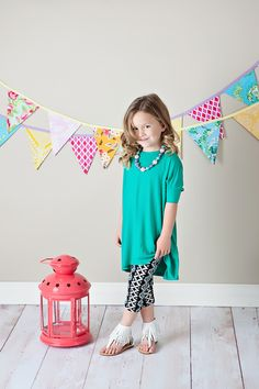 Ryleigh Rue Clothing by MVB - Girls Short Sleeve Oversized Piko Tunic Green, $19.00 (http://www.ryleighrueclothing.com/new/girls-short-sleeve-oversized-piko-tunic-green.html/)