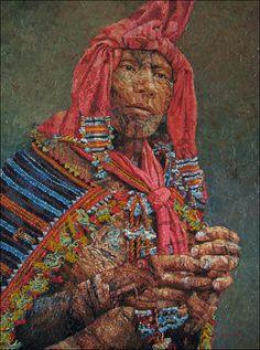 Indigenous Filipino artist Jef Cablog