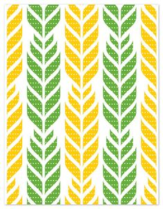 love green and yellow