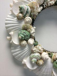 Hey, I found this really awesome Etsy listing at https://www.etsy.com/listing/202752050/beach-decor-coastal-christmas-seashell