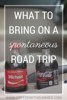 Sharing all about what you need to bring on any spontaneous road trip! From an extra change of clothes to Coca-Cola, you NEED these essentials! #ad #BestSummerMemories