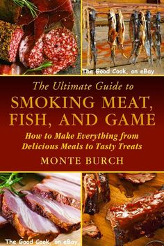 The Ultimate Guide to Smoking Meat Fish and Game from Meals to Treats ~ Whether you get your meat from a grocery store or hunt it in the wild, The Ultimate Guide to Smoking Meat, Fish, and Game will teach you how to smoke such great food as: • Beef • Pork ( and Bacon, lots of Bacon ! ) • Salmon • Venison • Buffalo Game Birds and Fowl • And much more! Plus, there are chapters on Making Jerky and Making Sausage ! Learn how to preserve meat, fish, and game and create delicious smoked cured